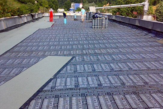 Modified bitumen waterproofing membranes and products for roads