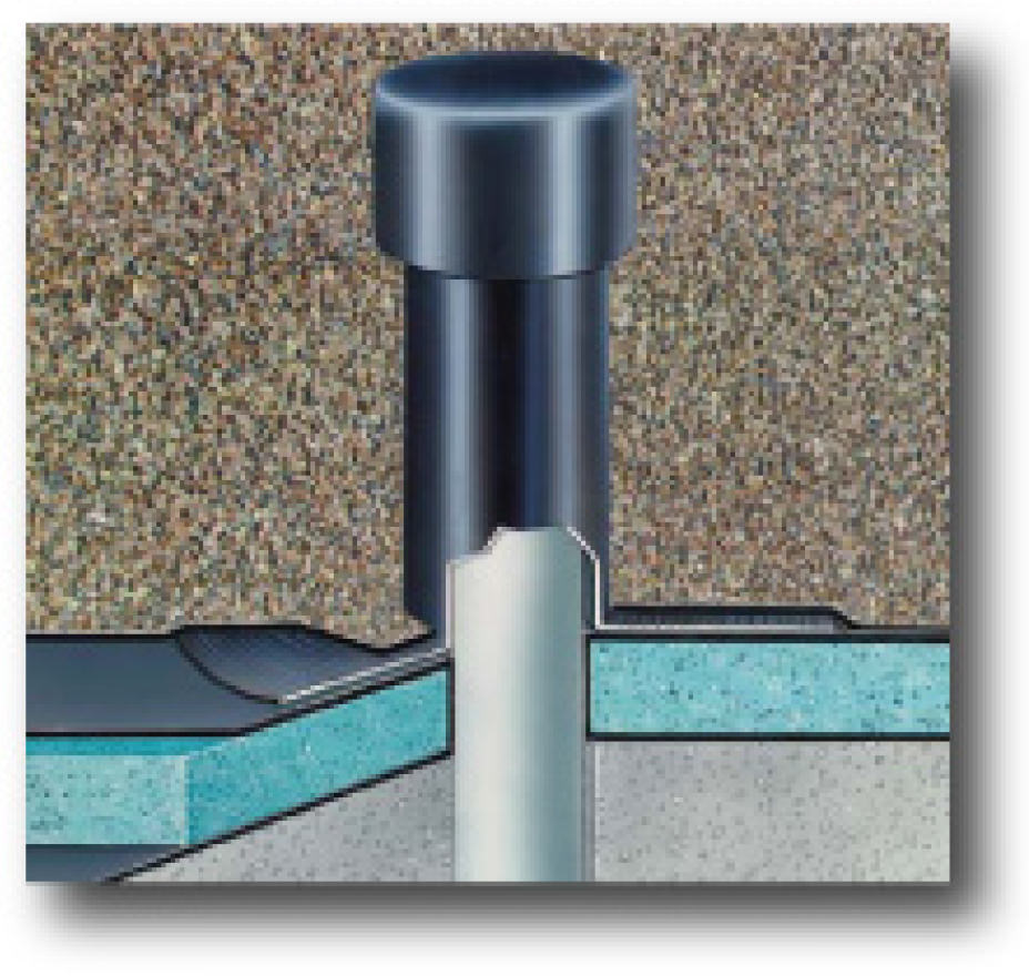 AIR VENTS FOR FLAT ROOFS